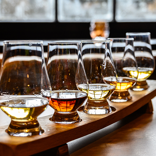 Whiskey tasking event with Lundeen's Liquors